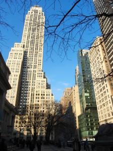 NY. Studded with so many skyscrapers!