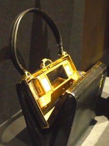 "A hand bag named ""Lanterne"" designed by Schiaparelli in 1939."