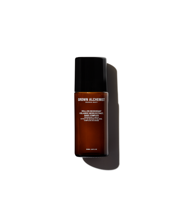 GROWN ALCHEMIST Roll-On Deodorant in Icelandic Moss Extract & Sage Complex